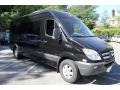 Carbon Black Metallic - Sprinter 2500 High Roof Passenger Van Photo No. 8