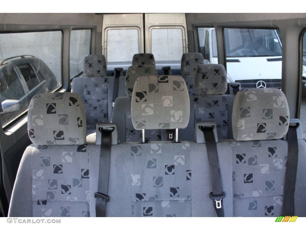 Gray Interior 2006 Dodge Sprinter Van 2500 High Roof Passenger Photo 50165595