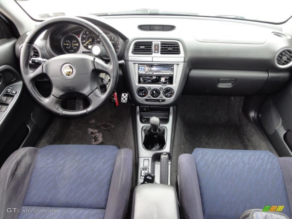 2003 Subaru Impreza Wrx Sedan Grey Blue Dashboard Photo