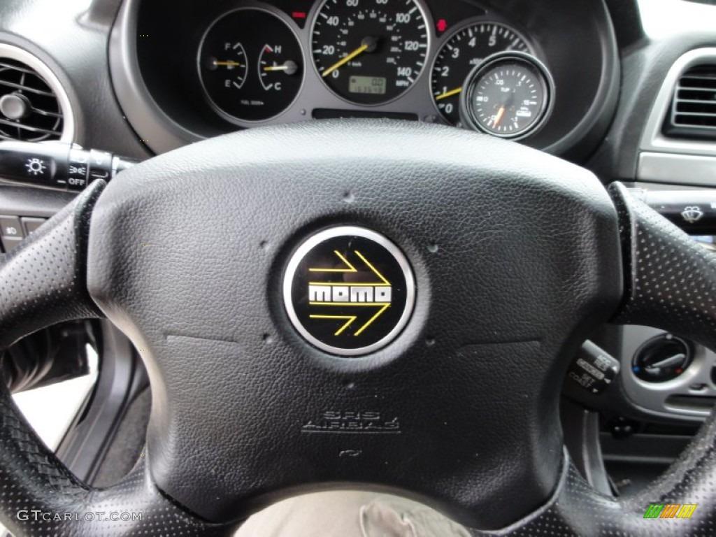 2003 subaru impreza wrx sedan grey blue steering wheel. Black Bedroom Furniture Sets. Home Design Ideas