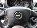 2003 Subaru Impreza Grey/Blue Interior Steering Wheel Photo