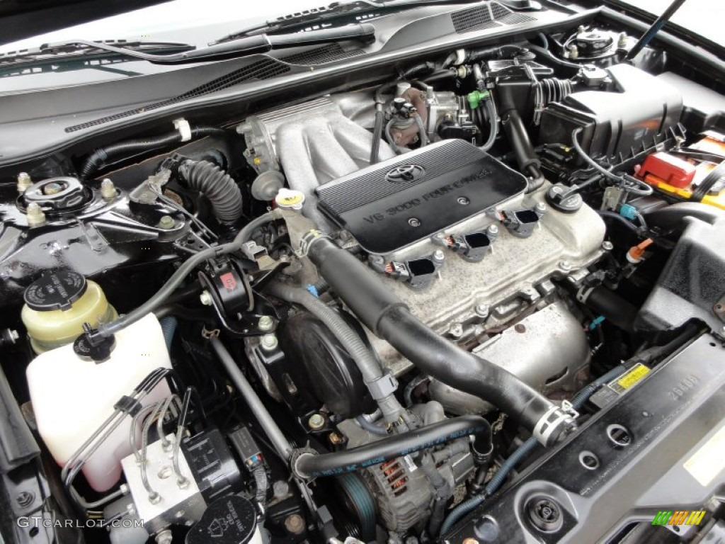 50174224 2003 toyota camry le v6 3 0 liter dohc 24 valve v6 engine photo toyota v6 engine diagram at fashall.co