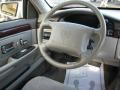 1997 Cadillac DeVille Shale/Neutral Interior Steering Wheel Photo
