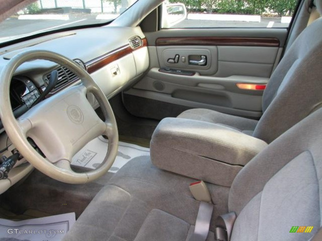 Shale Neutral Interior 1997 Cadillac Deville Sedan Photo 50177822