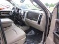 Light Pebble Beige/Bark Brown Interior Photo for 2010 Dodge Ram 3500 #50178599