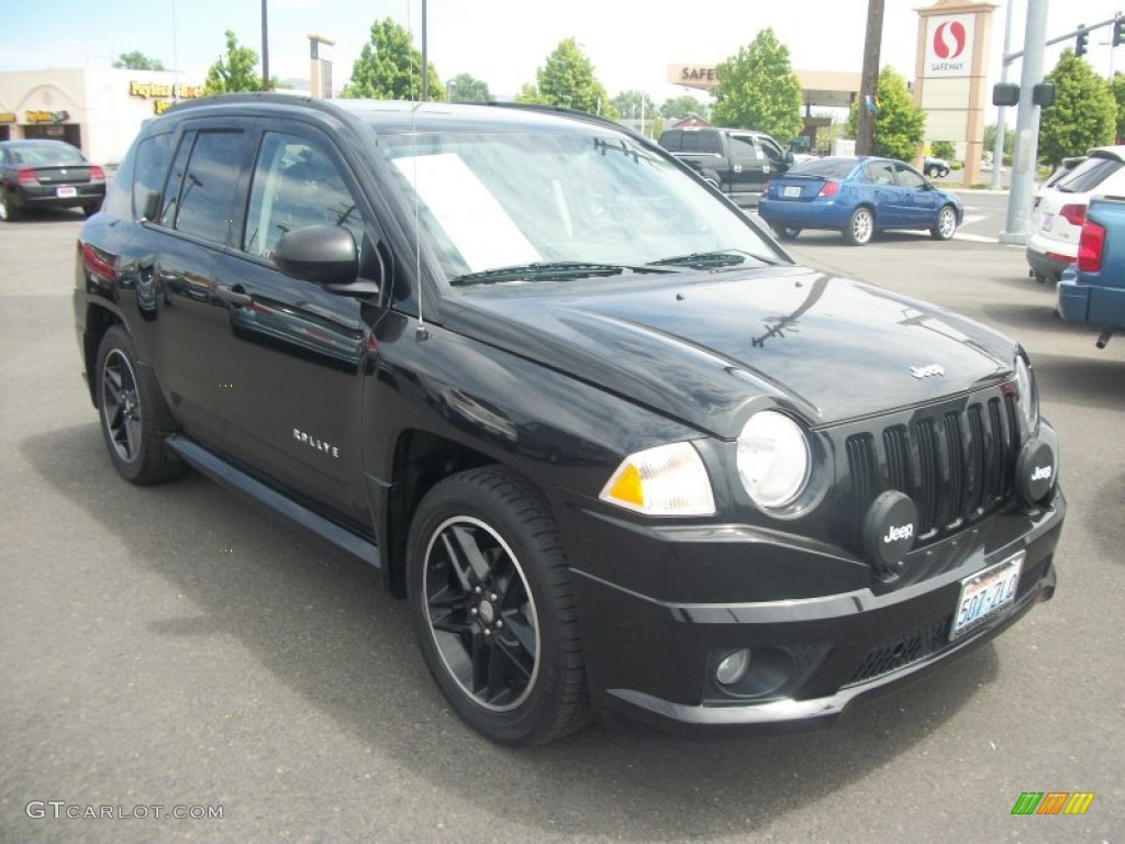 2007 black jeep compass rallye sport 4x4 50186253 car color galleries. Black Bedroom Furniture Sets. Home Design Ideas