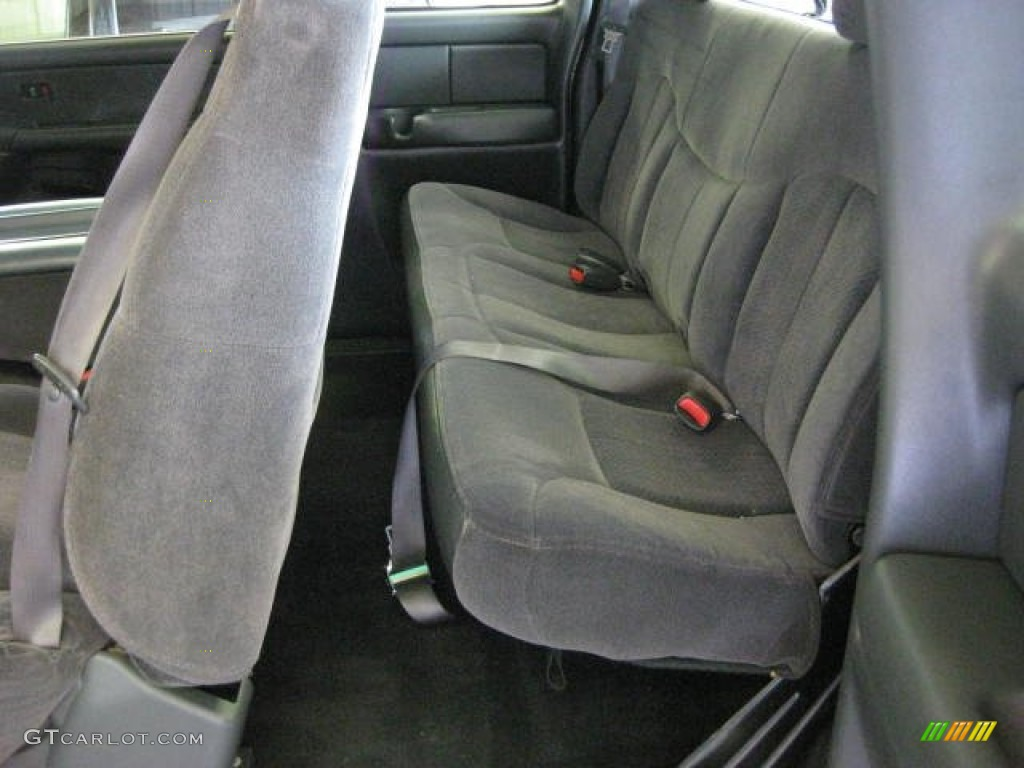 2002 Chevrolet Silverado 1500 LS Extended Cab 4x4 Interior Color Photos