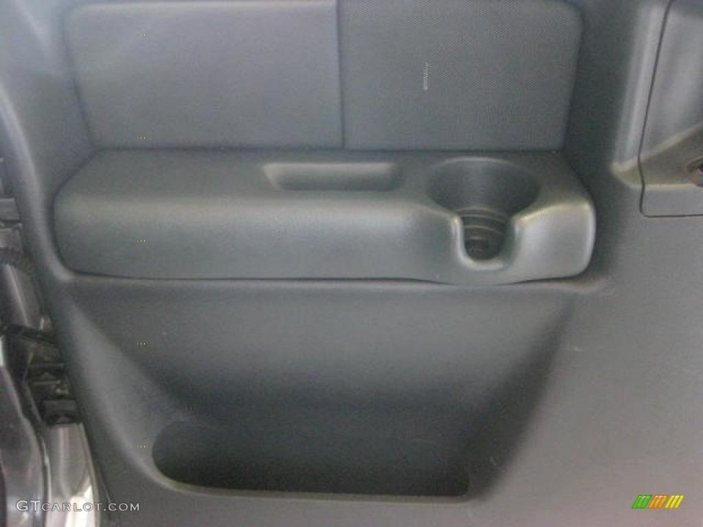 2002 Silverado 1500 LS Extended Cab 4x4 - Medium Charcoal Gray Metallic / Graphite Gray photo #19