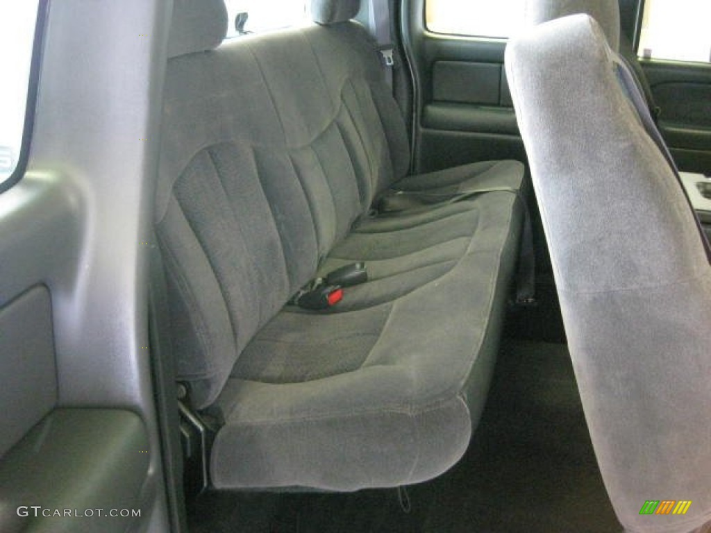 2002 Silverado 1500 LS Extended Cab 4x4 - Medium Charcoal Gray Metallic / Graphite Gray photo #23