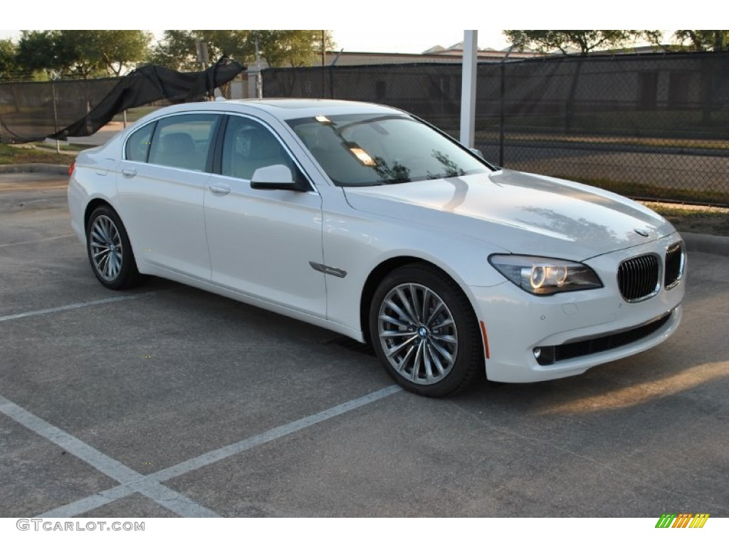 mineral white metallic 2012 bmw 7 series 740li sedan. Black Bedroom Furniture Sets. Home Design Ideas