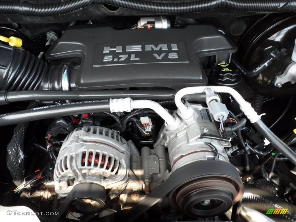 2008 dodge ram 1500 big horn edition quad cab 5 7 liter mds hemi ohv 16 valve v8 engine photo. Black Bedroom Furniture Sets. Home Design Ideas