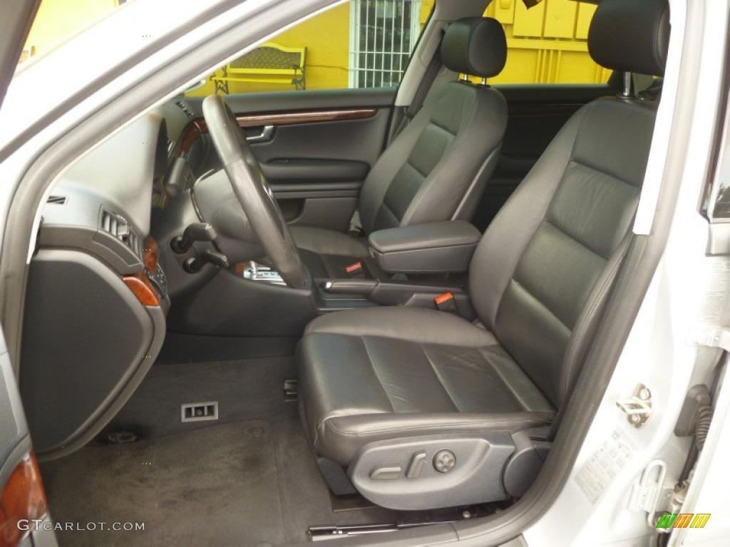 Ebony Interior 2005 Audi A4 3.2 quattro Sedan Photo ...