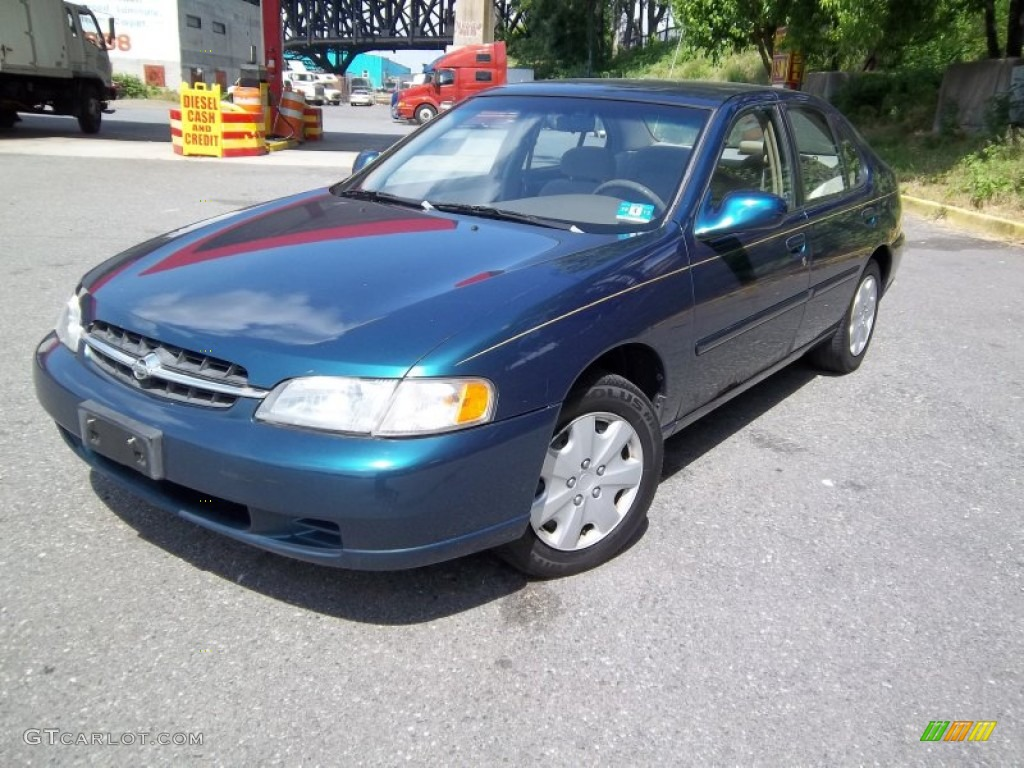 1998 blue emerald pearl metallic nissan altima gle #50191391 photo