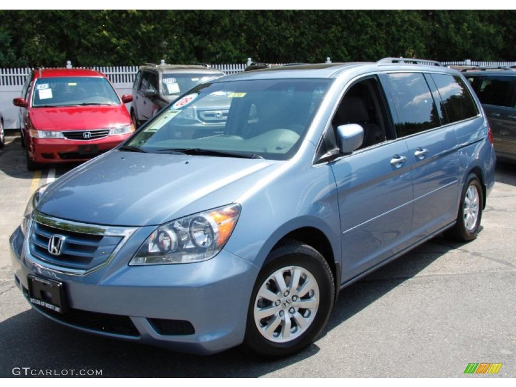 Baltic Blue Pearl Honda Odyssey. Honda Odyssey EX L