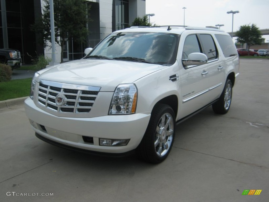 white diamond tricoat 2011 cadillac escalade esv premium. Black Bedroom Furniture Sets. Home Design Ideas