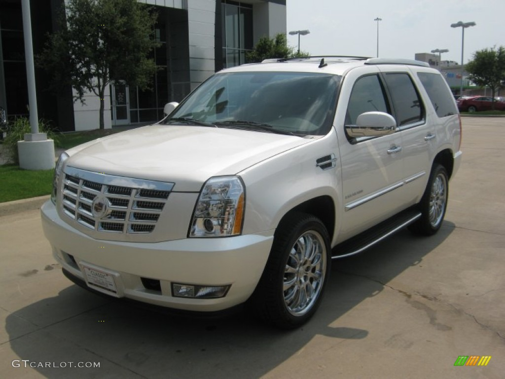 2011 white diamond tricoat cadillac escalade awd 50191450 car color galleries. Black Bedroom Furniture Sets. Home Design Ideas