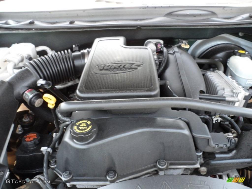 2002 GMC Envoy SLE 4.2 Liter DOHC 24-Valve Vortec Inline 6 Cylinder Engine  Photo