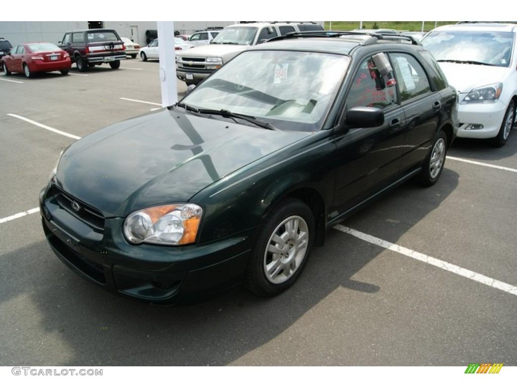 2004 woodland green pearl subaru impreza 2 5 sport wagon 50230794 photo 4 gtcarlot com car color galleries gtcarlot com