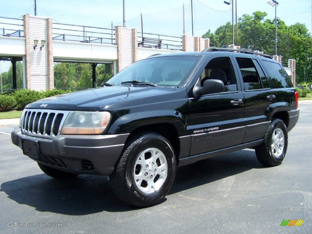 2001 black jeep grand cherokee laredo 4x4 50231256 photo. Black Bedroom Furniture Sets. Home Design Ideas