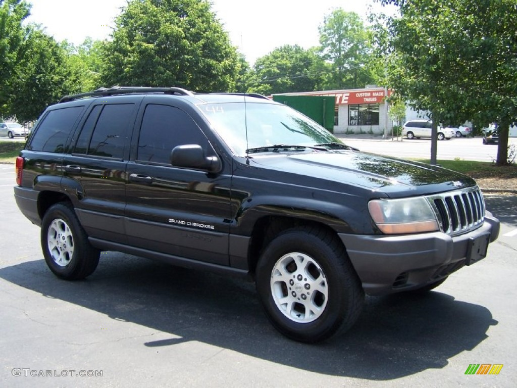 2001 grand cherokee laredo 4x4 black agate photo 7