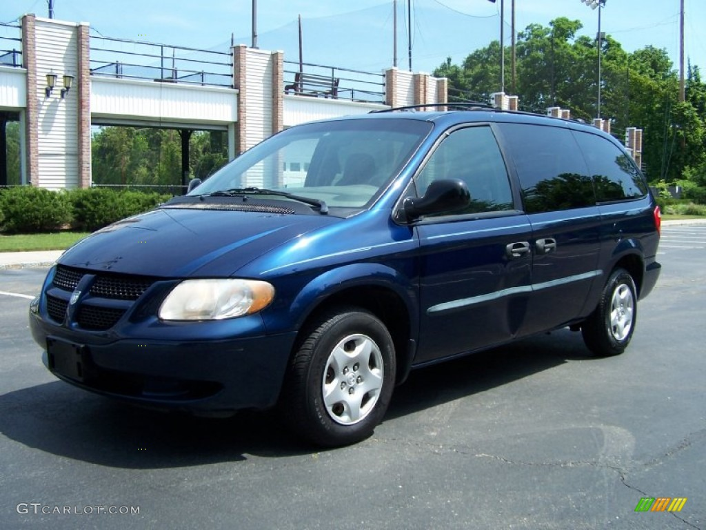 2002 patriot blue pearl dodge grand caravan se 50231257. Black Bedroom Furniture Sets. Home Design Ideas