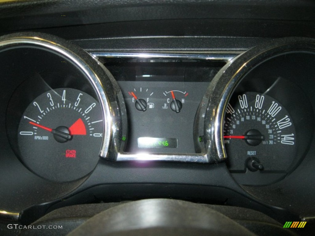 2005 Ford Mustang Gt Premium Convertible Gauges Photo 50246476