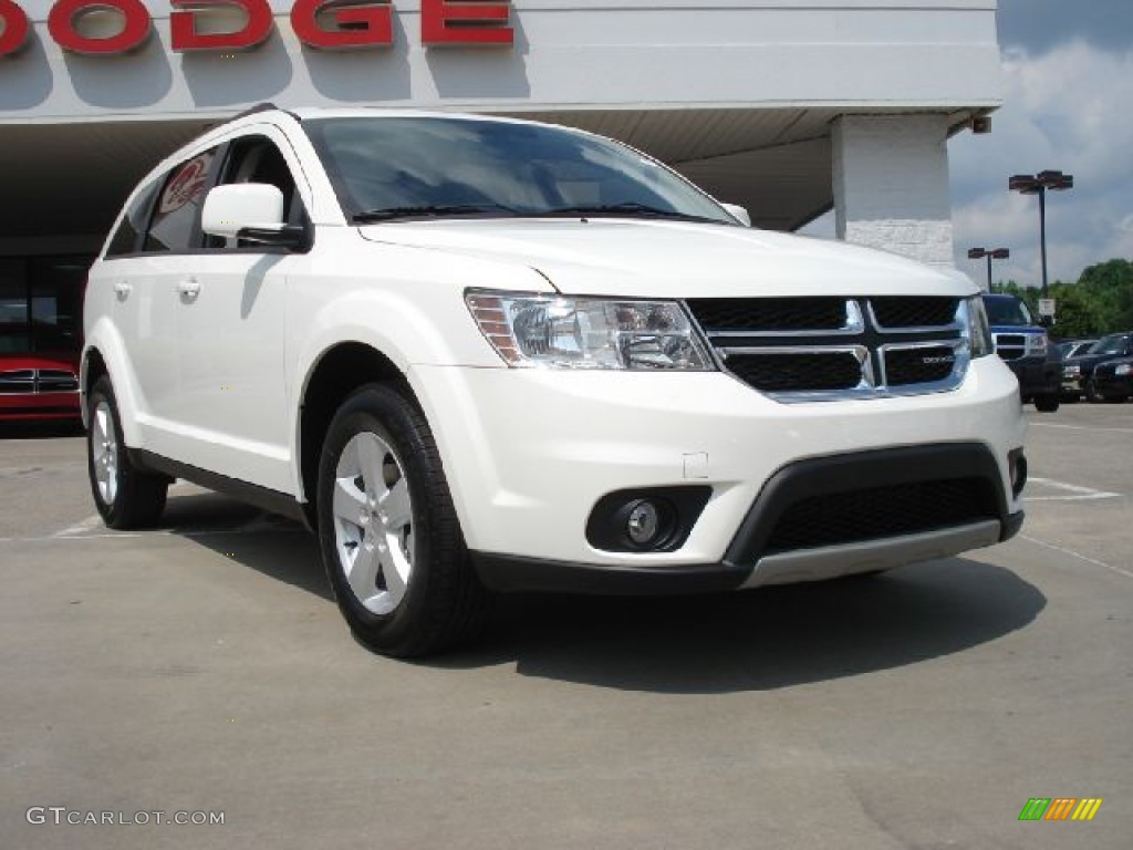 Bianco White Dodge Journey