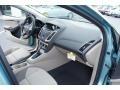 2012 Frosted Glass Metallic Ford Focus SE Sedan  photo #13