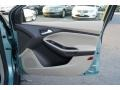 2012 Frosted Glass Metallic Ford Focus SEL 5-Door  photo #16