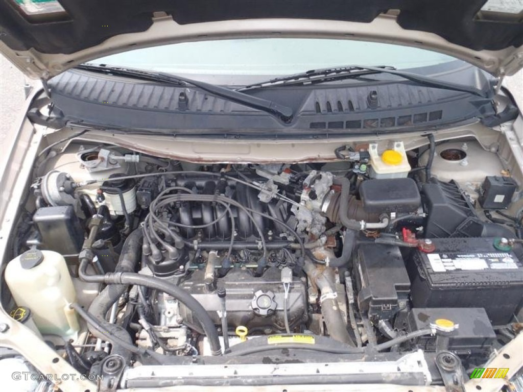 2001 Nissan Quest Gle 3 3 Liter Sohc 12 Valve V6 Engine