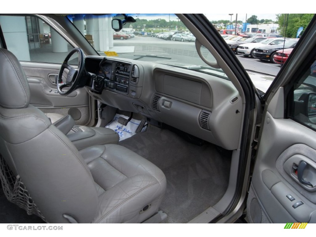 gray interior 1998 chevrolet c k k1500 silverado extended cab 4x4 photo 50253176