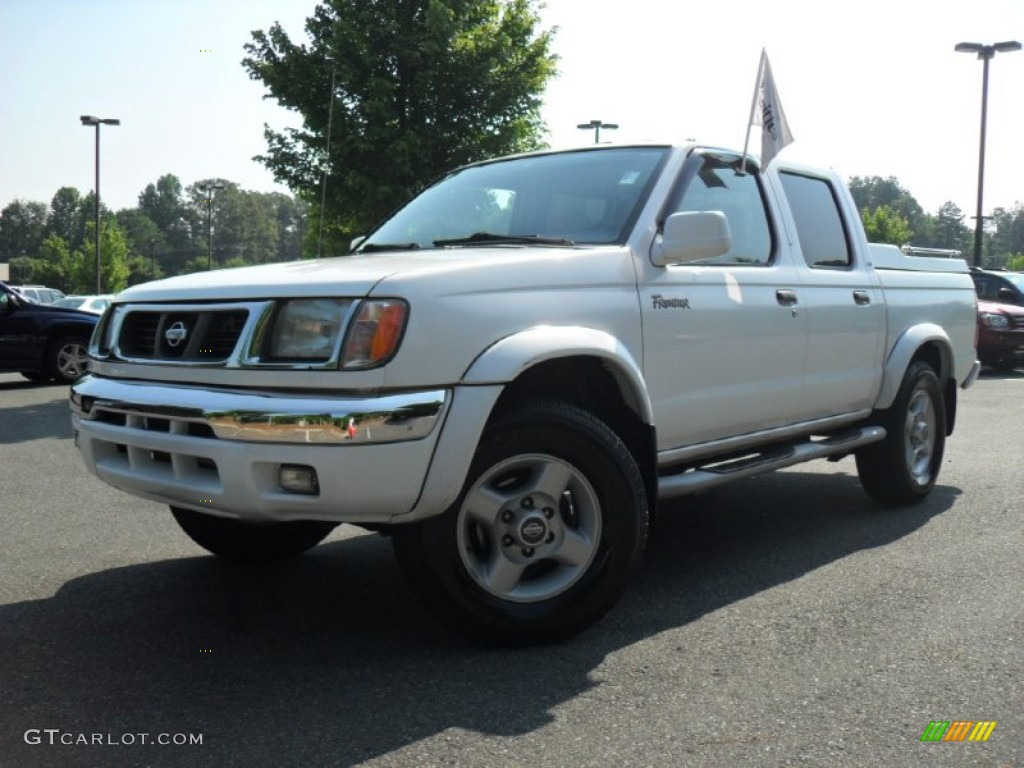 2000 Cloud White Nissan Frontier Se Crew Cab 50231314 Car Color Galleries