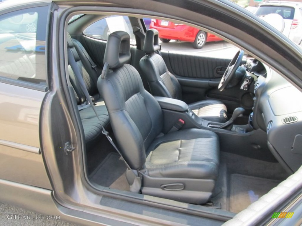 Graphite Interior 2002 Pontiac Grand Prix Gt Coupe Photo