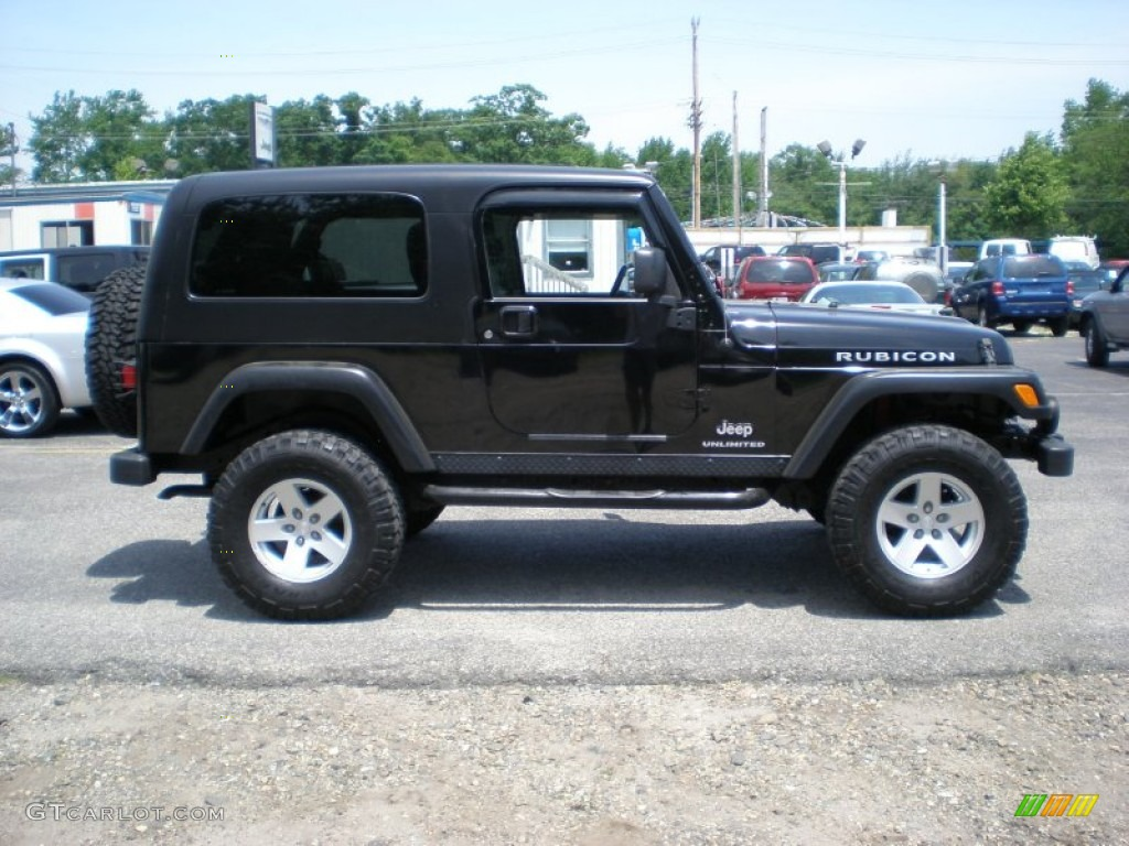 Jeep Wrangler Unlimited Rubicon Black Black 2006 Jeep Wrangler