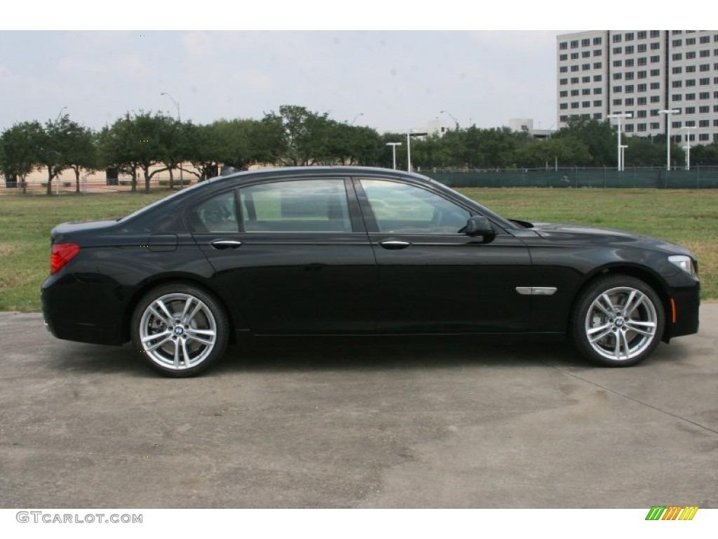 Black Sapphire Metallic 2012 BMW 7 Series 750Li Sedan ...