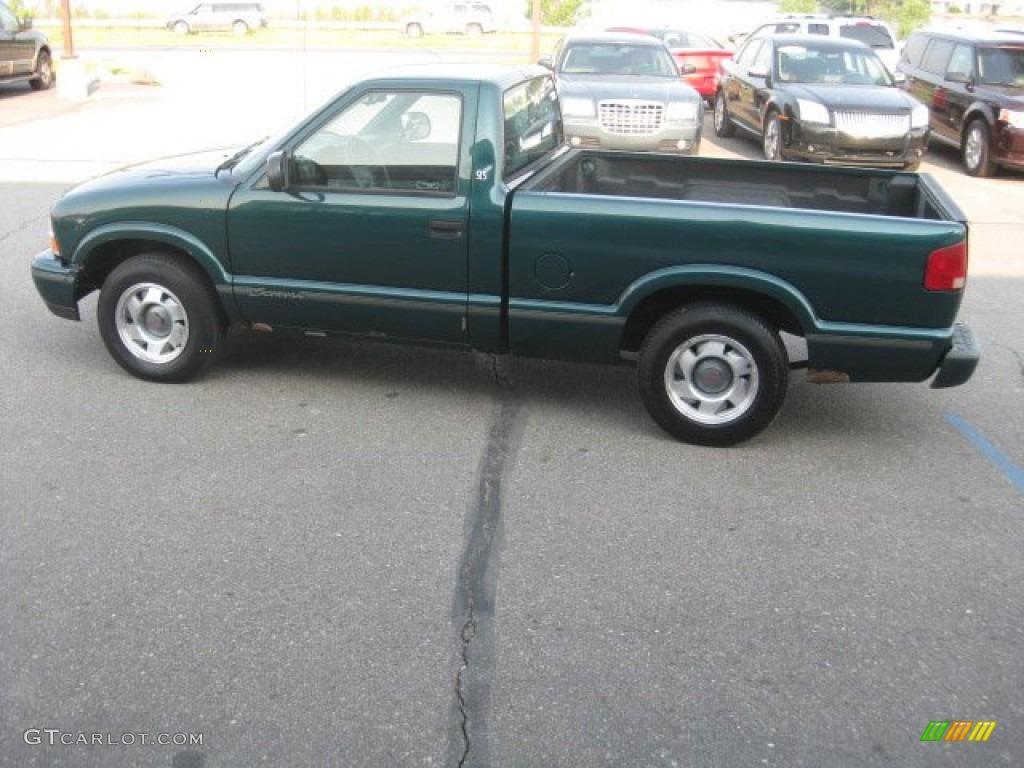 1998 Emerald Green Metallic Gmc Sonoma Sls Regular Cab 50268328 Photo 4 Gtcarlot Com Car Color Galleries