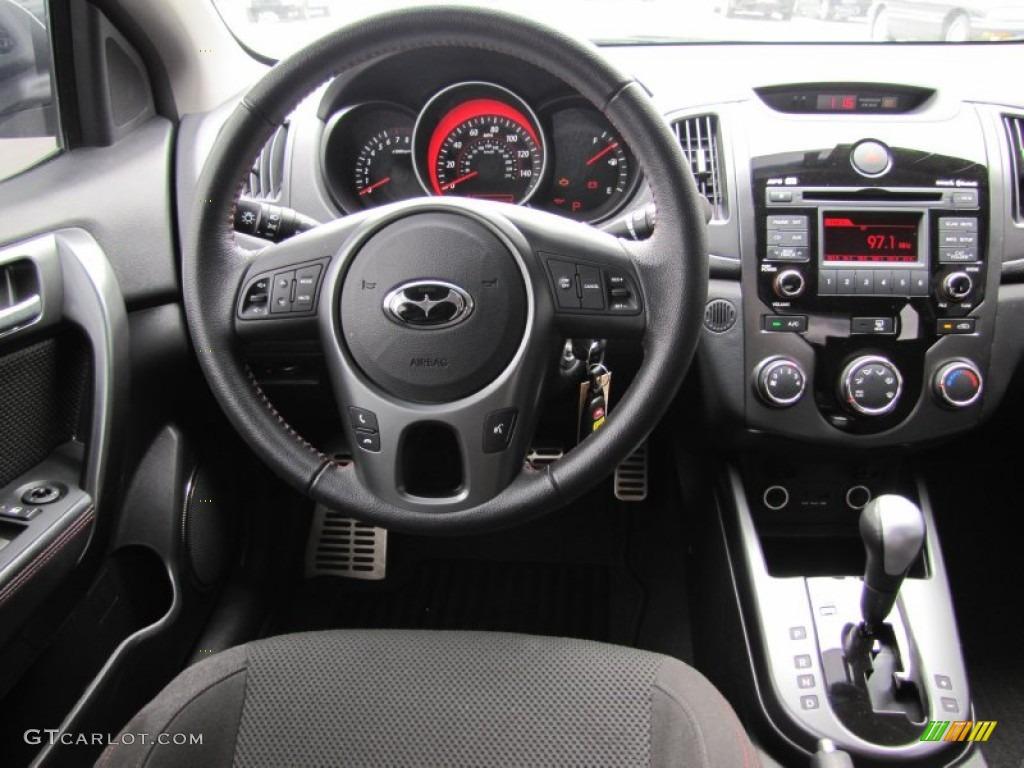 2010 Kia Forte Koup Sx Black Sport Dashboard Photo 50279409 Gtcarlot Com