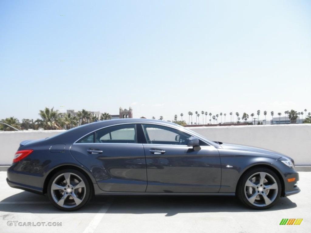 Steel grey metallic 2012 mercedes benz cls 550 coupe for 2012 mercedes benz cls 550