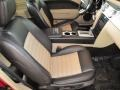 Black/Parchment 2007 Ford Mustang Interiors