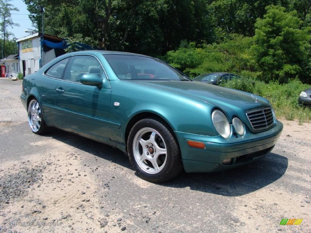 1998 mineral green metallic mercedes benz clk 320 coupe for 1998 mercedes benz clk 320