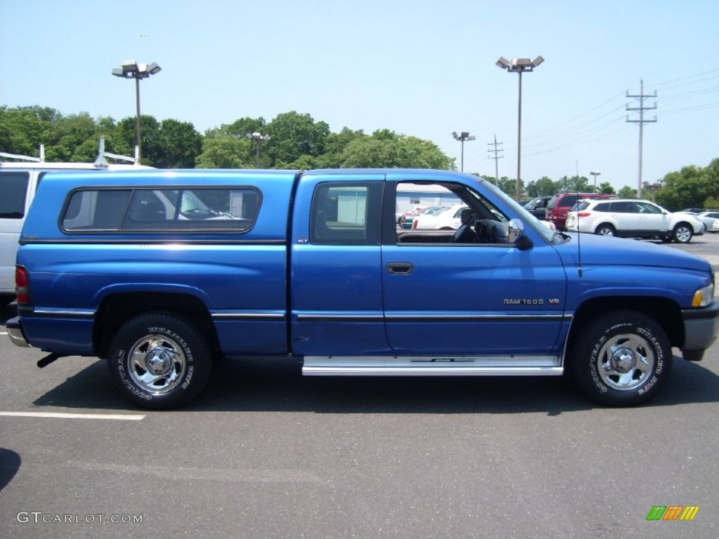 brilliant blue pearl 1996 dodge ram 1500 slt extended cab exterior photo 50292572. Black Bedroom Furniture Sets. Home Design Ideas