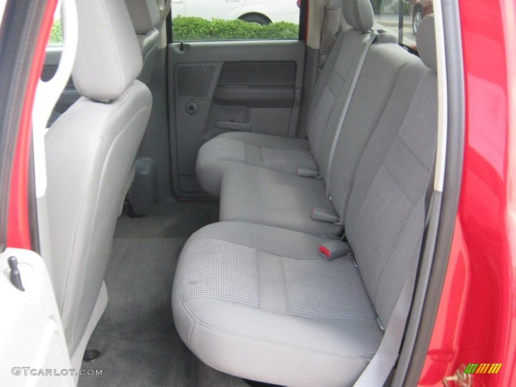 2007 Dodge Ram 3500 Lone Star Quad Cab Dually Interior Color Photos