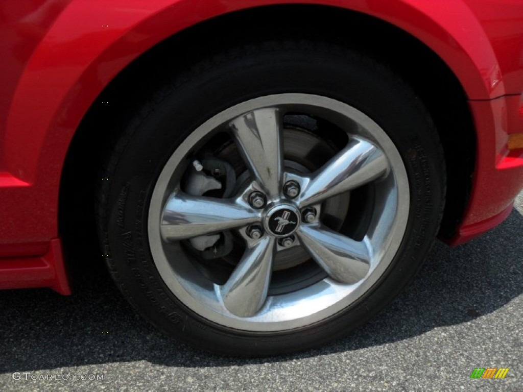 2006 Ford Mustang GT Premium Coupe Wheel Photo #50297208