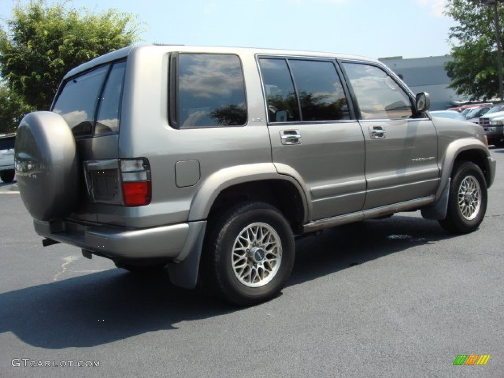 Moonmist gray mica 2001 isuzu trooper ls exterior photo 50303436