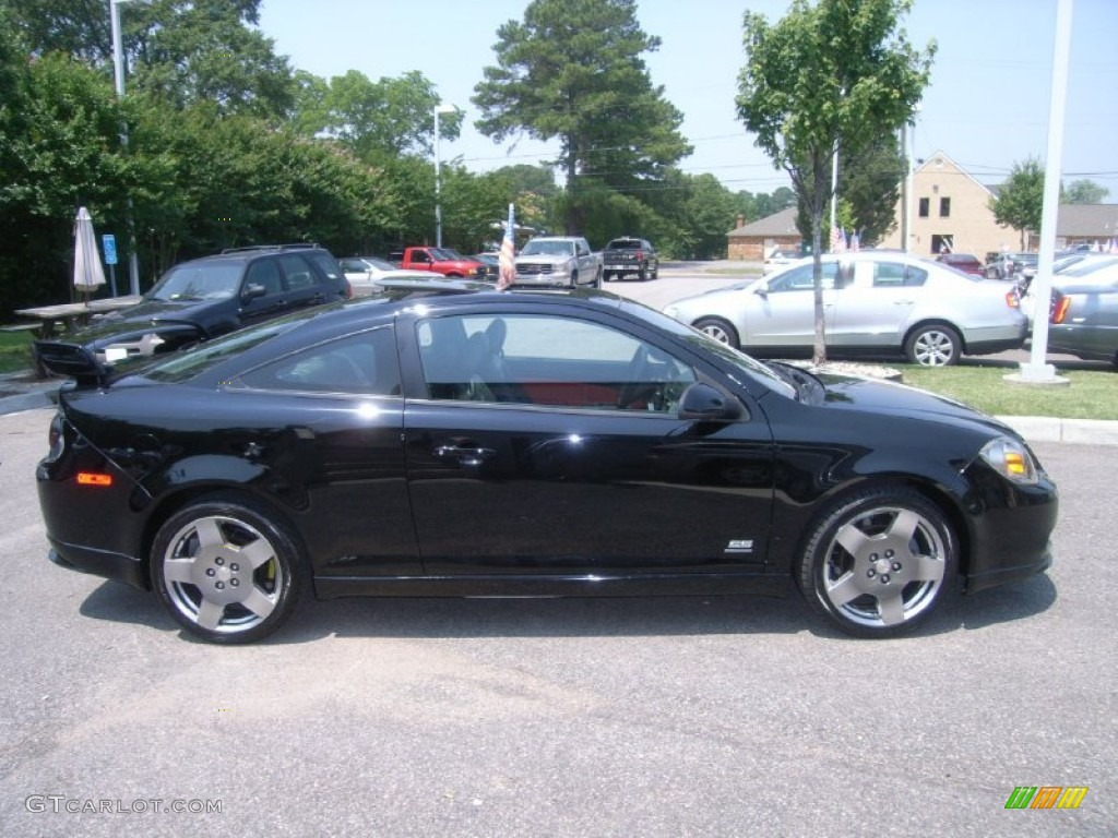 black 2007 chevrolet cobalt ss supercharged coupe exterior. Black Bedroom Furniture Sets. Home Design Ideas