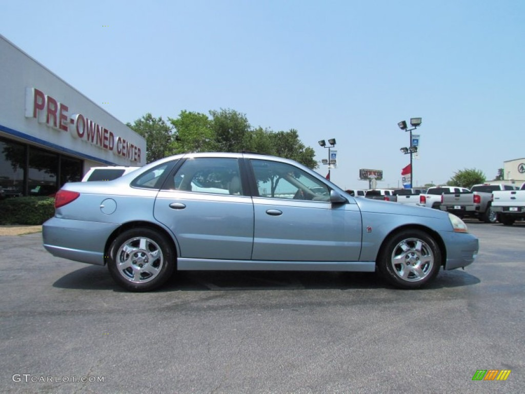 Silver blue 2003 saturn l series l300 sedan exterior photo 50322879