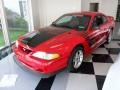 1994 Vibrant Red Ford Mustang GT Boss Shinoda Coupe  photo #1