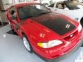1994 Vibrant Red Ford Mustang GT Boss Shinoda Coupe  photo #7