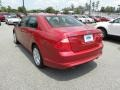 2011 Red Candy Metallic Ford Fusion SE V6  photo #15