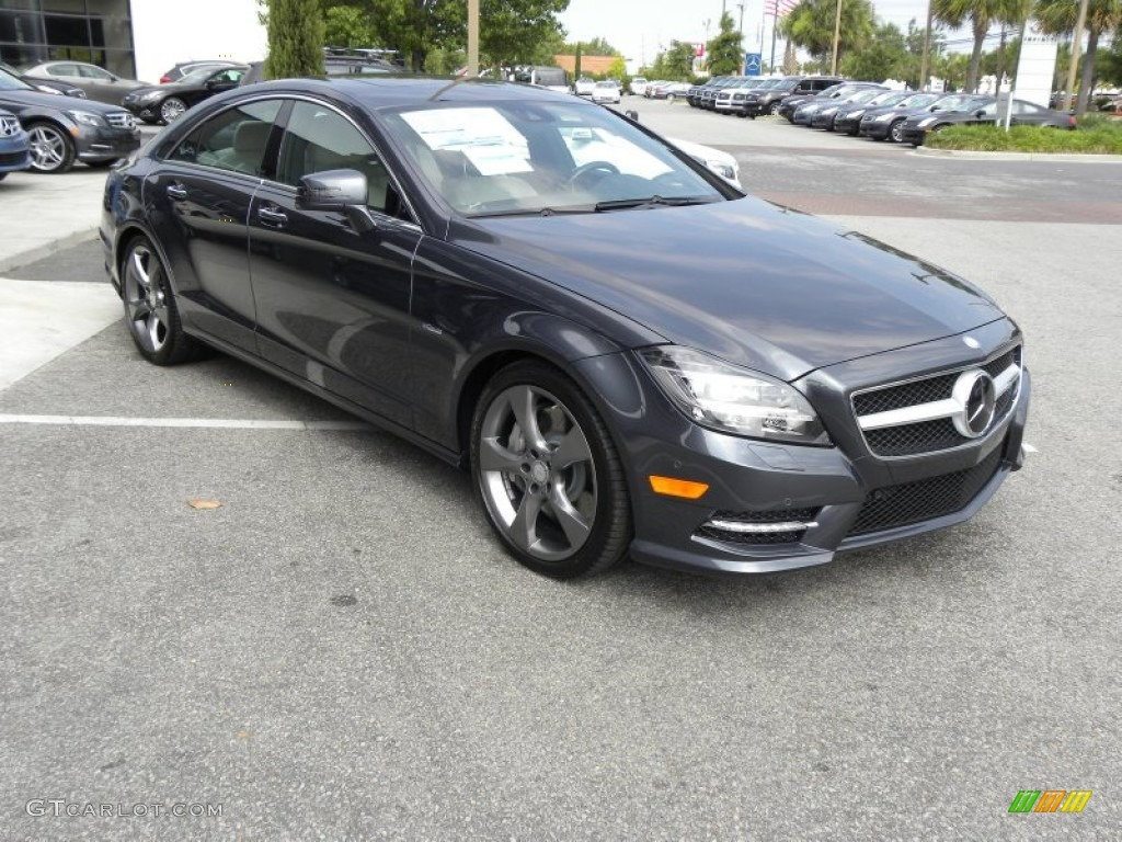 Steel grey metallic 2012 mercedes benz cls 550 coupe for 2012 mercedes benz cls